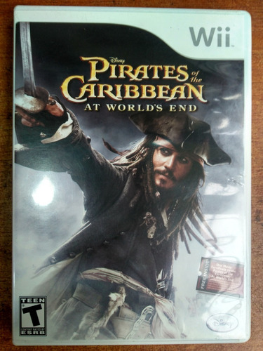 juego nintendo wii pirates of the caribbean at worlds end