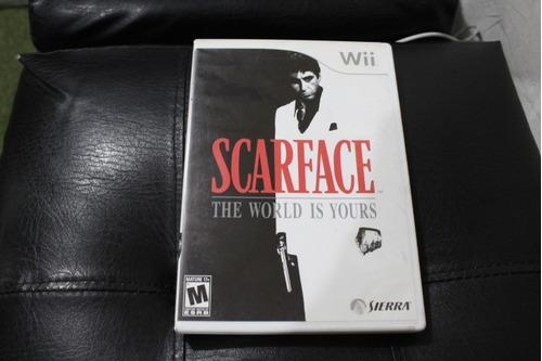 juego nintendo wii scarface