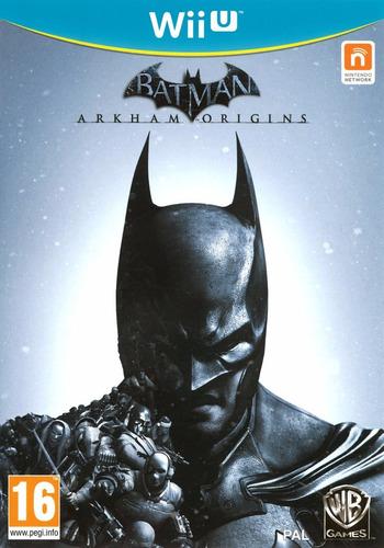 juego nintendo wii u batman arkham origins - original fisico