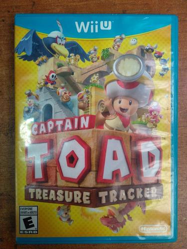 juego nintendo wii u captain toad treasure tracker fisico