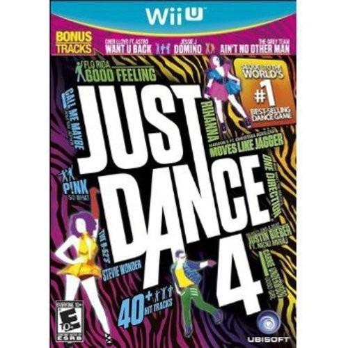 juego nintendo wii u just dance 4 - original fisico