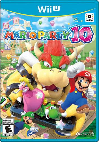 juego nintendo wii u mario party 10 - refurbished fisico