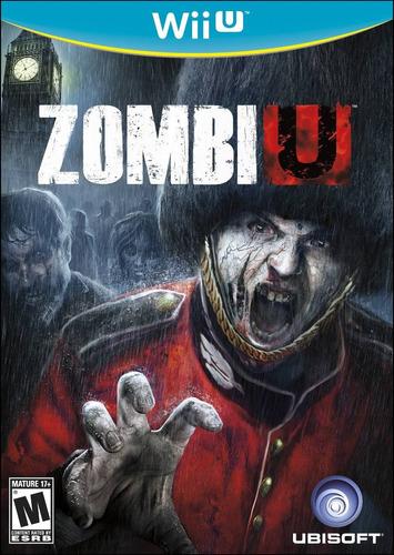 juego nintendo wii u zombie u - original fisico