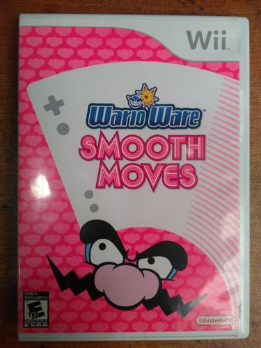 juego nintendo wii wario ware smooth moves