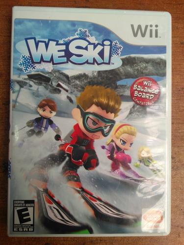 juego nintendo wii we ski