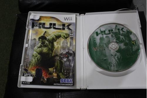 juego nintengo wii hulk