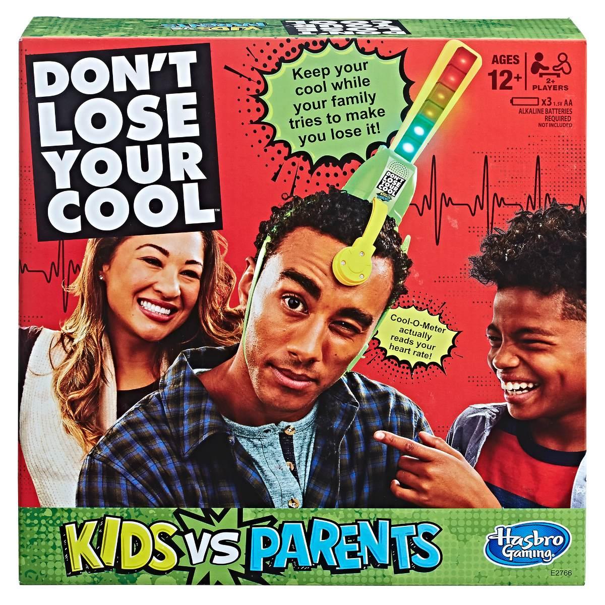 Juego No Pierdas La Calma Hijos Vs Padres Hasbro Gaming 918 98