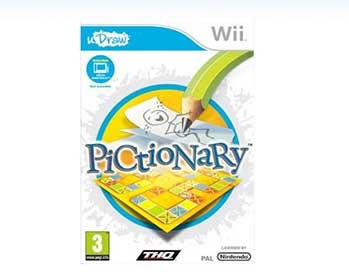 juego oficial wii udraw pictionary