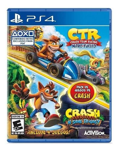 juego original crash 4 en 1 playstation 4 delivery gratis