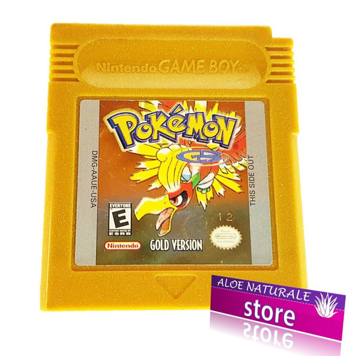 juego original de pokémon gold oro para game boy color
