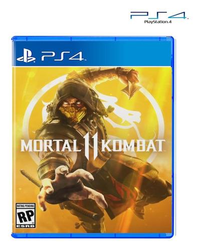 juego original mortal kombat 11 ps4 somos tienda