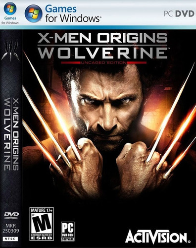 juego original para pc x-men origins wolverine