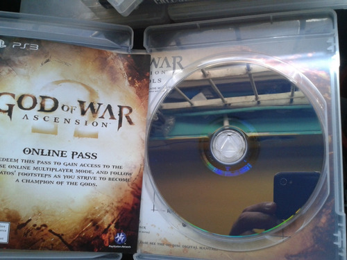 juego original ps3 god of war en esoañol
