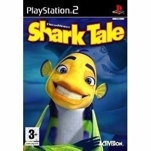 juego original shark tale play station  2 solo disc ntsc ps2