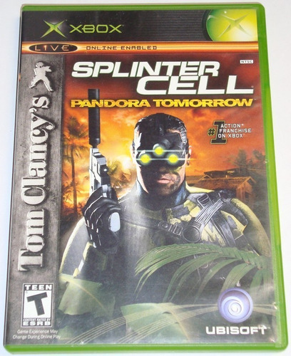 juego original splinter cell pandora tomorrow xbox ntsc game