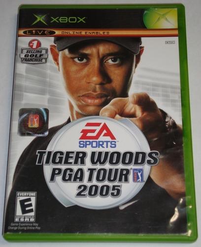 juego original tiger woods pga tour 2005 xbox usado ntsc