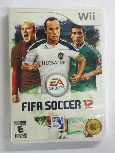 juego original wii fifa soccer 12, usado