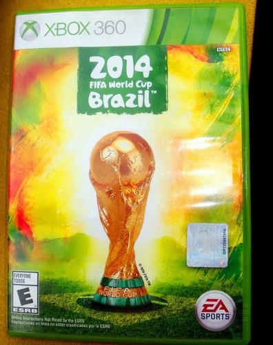 juego original xbox 360 fifa world cup