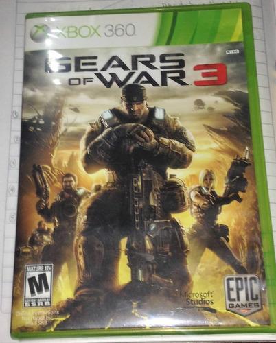 juego original xbox360 gears of war 3