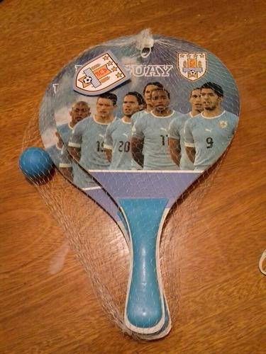 juego paletas motivo uruguay