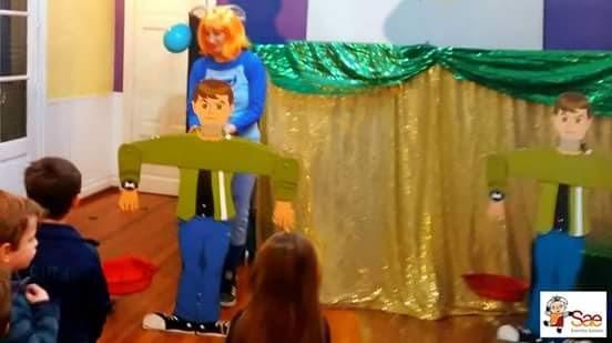 Juego Para Animacion Ben 10 Kermesse Y Competencia 2 200 00 En