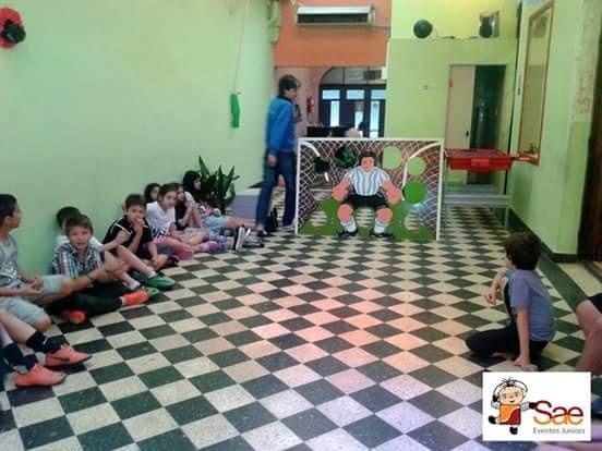 Juego Para Animacion Kermesse Y Deportiva Penalero Madera