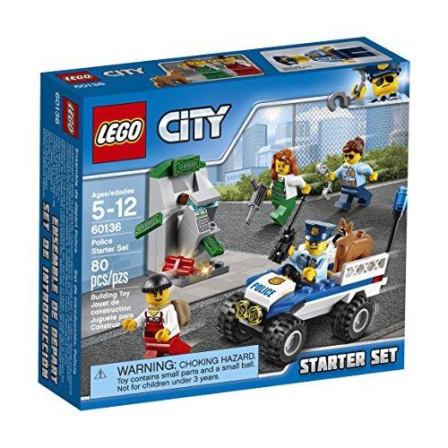 Juego Para Armar De Lego City Set Basico De Policia 60136