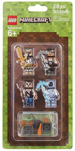 Juego Para Armar De Lego Minecraft 2 Packs De Apariencia 853