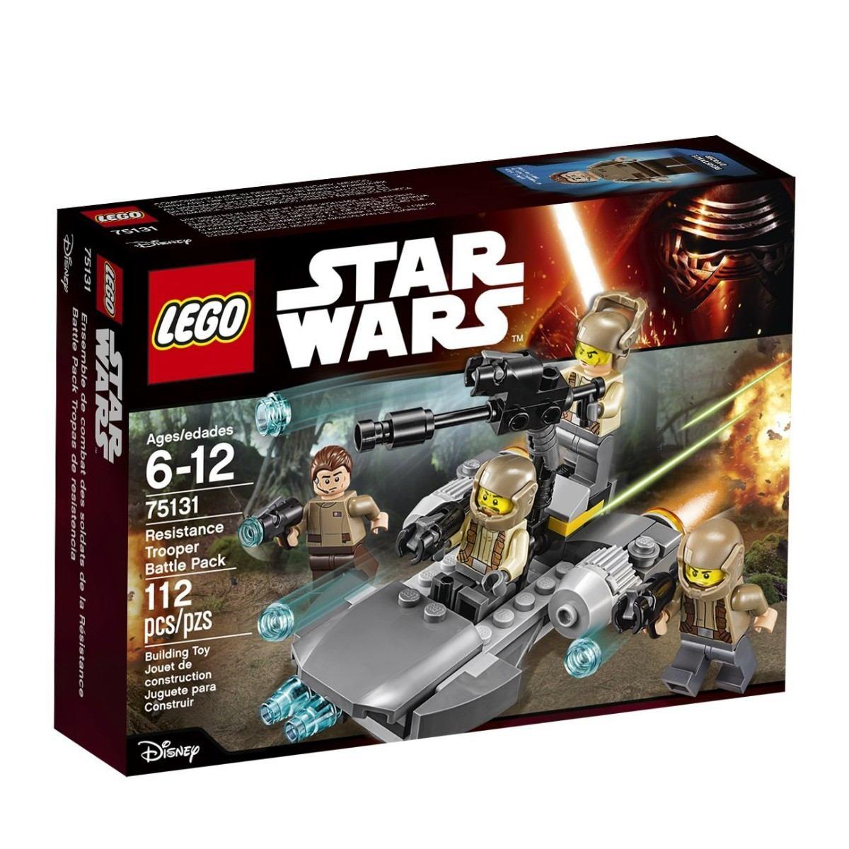 Juego Para Armar Lego 75131 Star Wars Combate De Resistencia 599