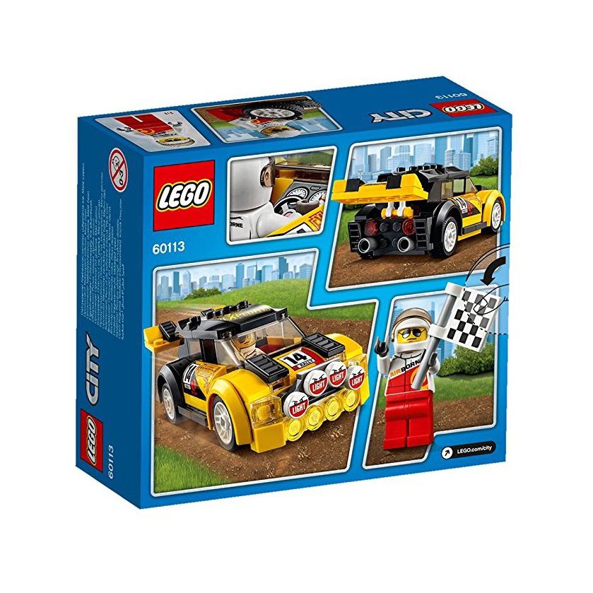 Juego Para Armar Lego City 60113 Auto De Rally 699 00 En Mercado