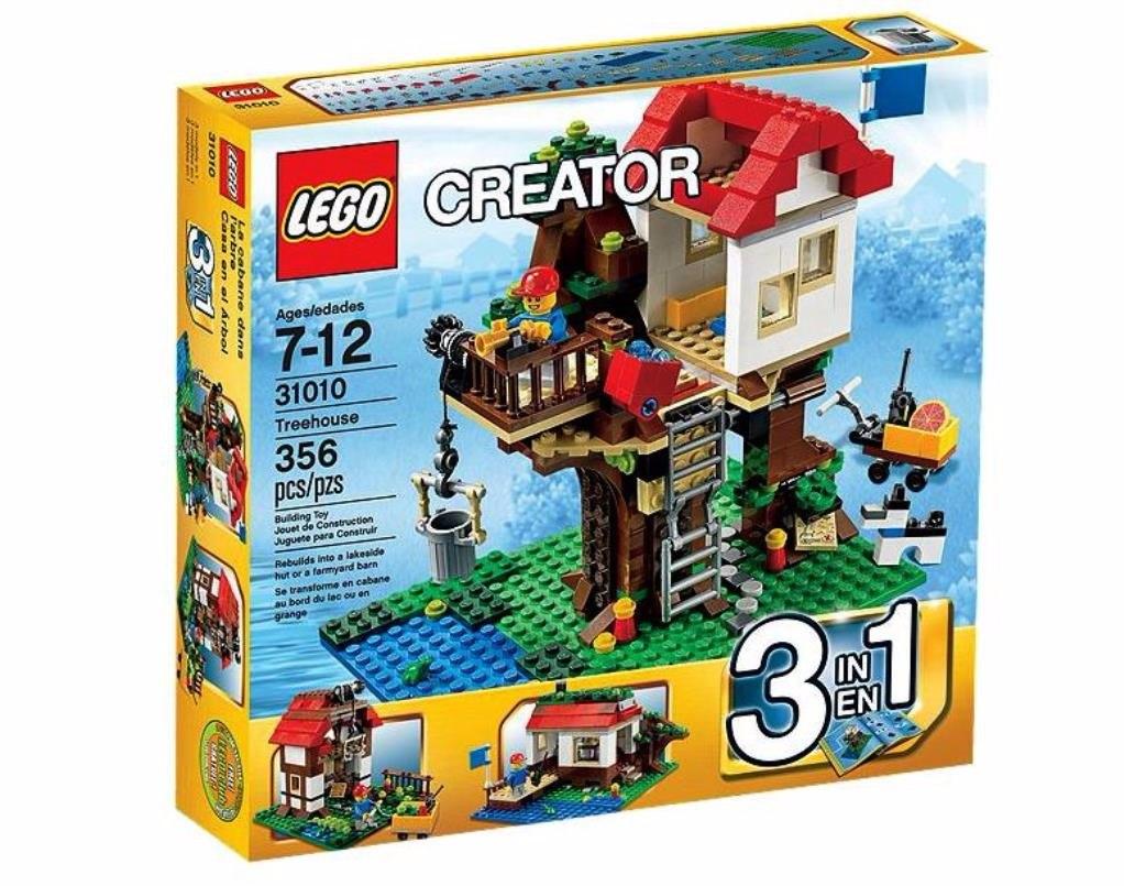 Juego Para Armar Lego Creator 3 En 1 31010 356 Piezas 1 699 00