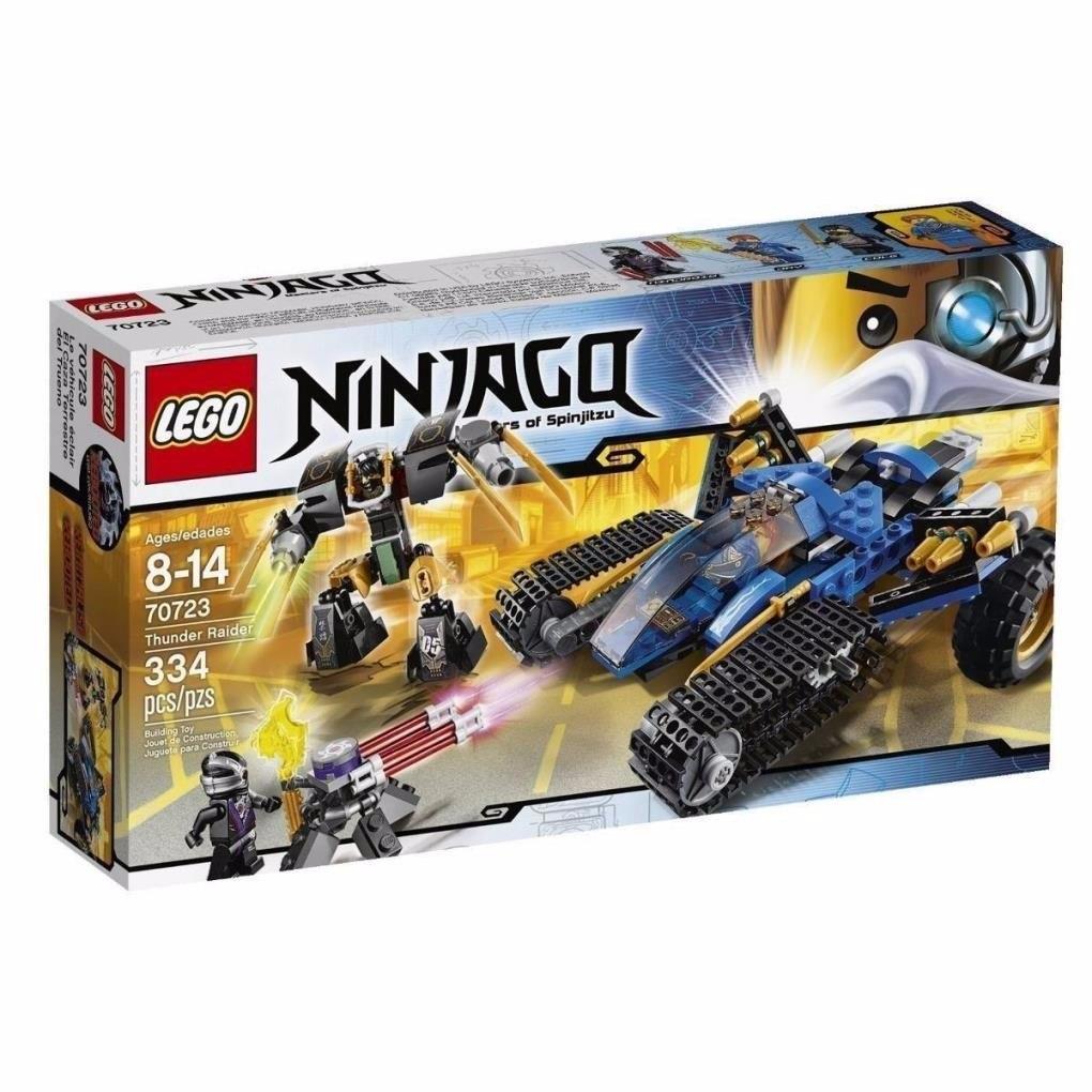 Juego Para Armar Lego Ninjago Thunder Raider 70723 2 199 00 En