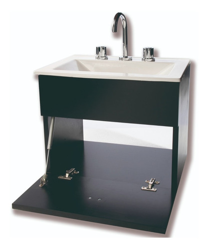 juego para baño basico inodoro pringles vanitory 50cm espejo