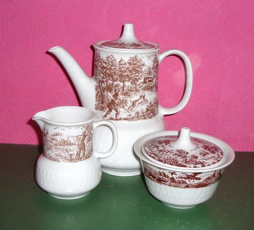 juego para cafe porcelana marly
