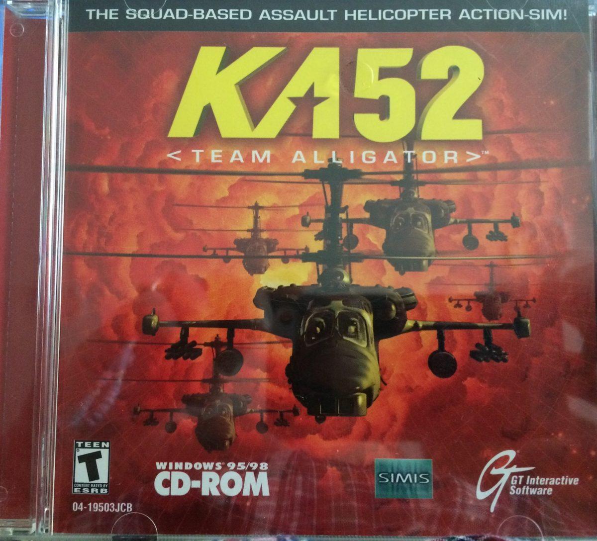 Juego Para Computadora Ka52 Helicopteros Rusos Windows98 120 00