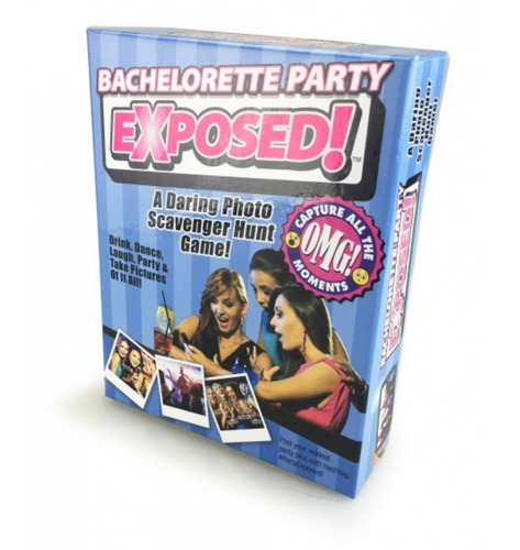 juego para despedida de soltera - exposed bachelorette party
