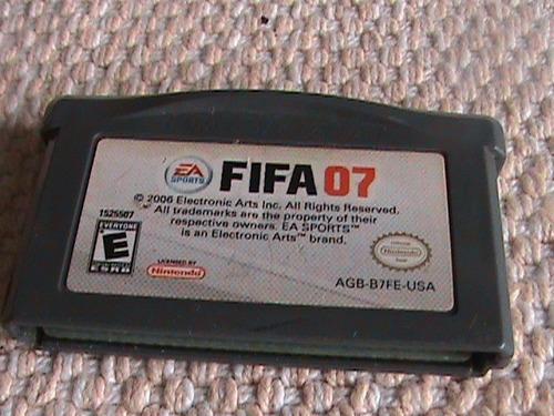 juego para game boy advance sp fifa07