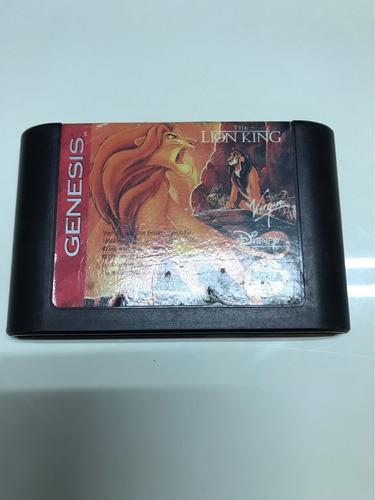 juego para genesis: the lion king