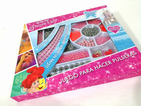 ea1aafdecbec Juego Para Hacer Pulseras Y Collares Princesas Disney Niña