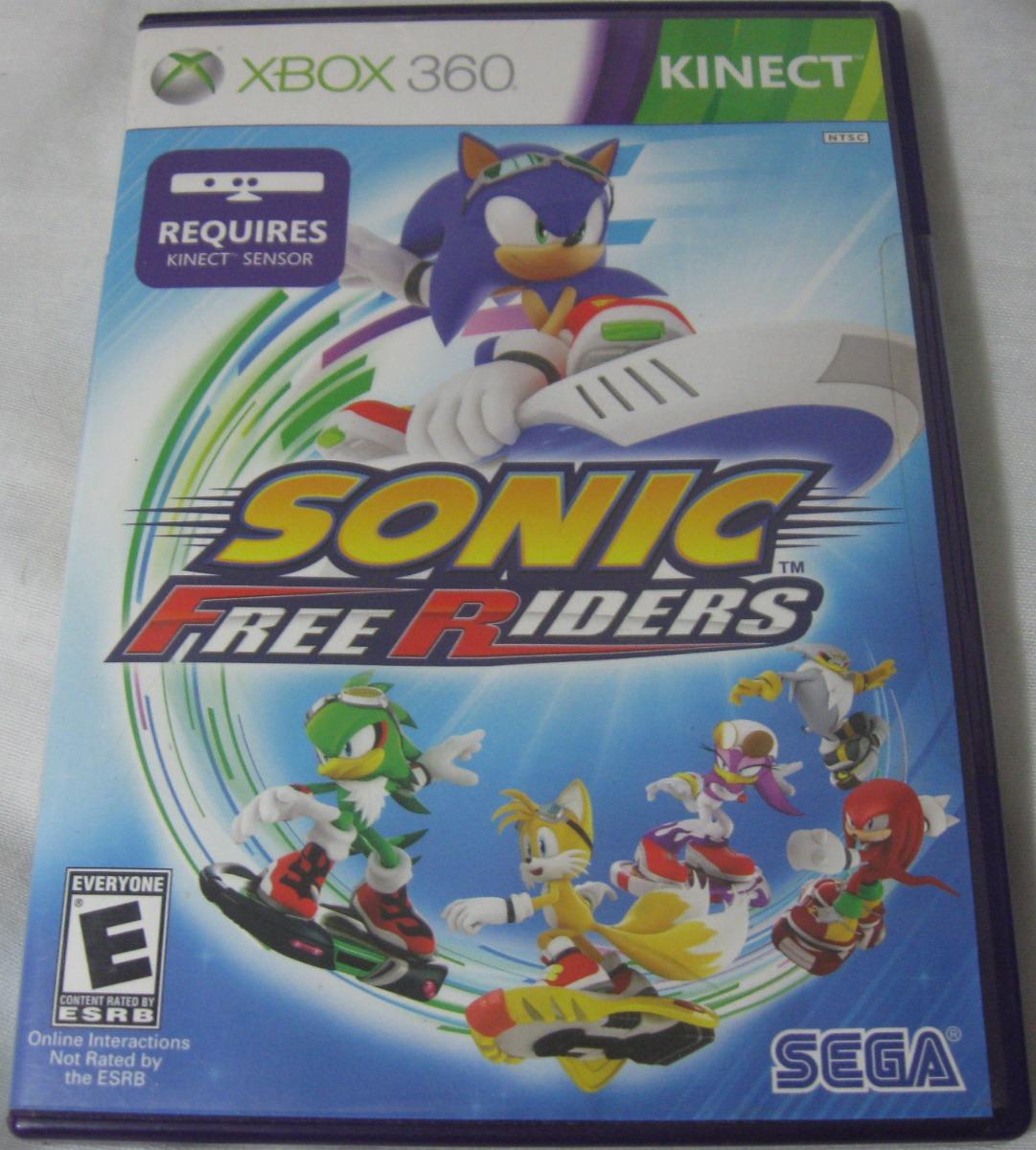 Juego Para Kinect De Xbox 360 Sonic Free Riders Original Bs