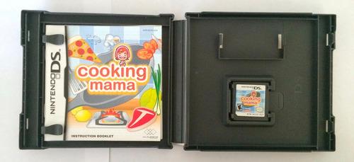 juego para nintendo ds original ¿cooking mama¿.