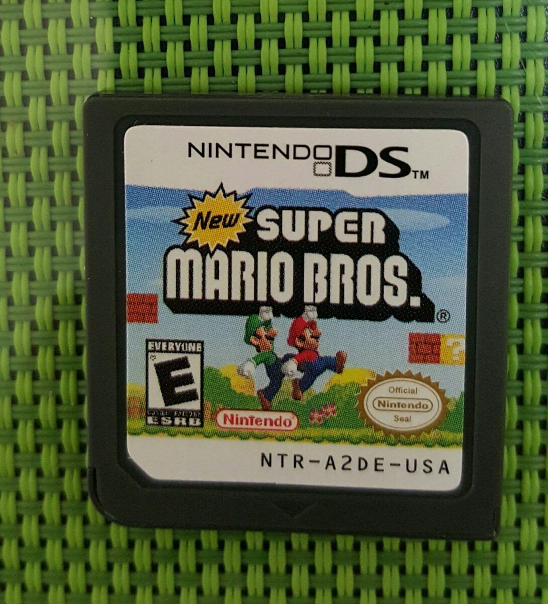 Juego Para Nintendo Ds Super Mario Bros U S 25 00 En Mercado Libre