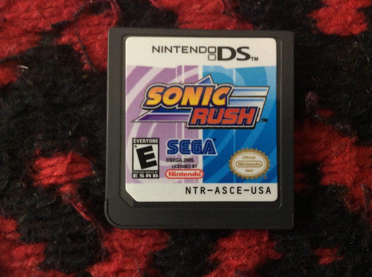 Juego Para Nintendo Dsi Sonic Rush 600 00 En Mercado Libre
