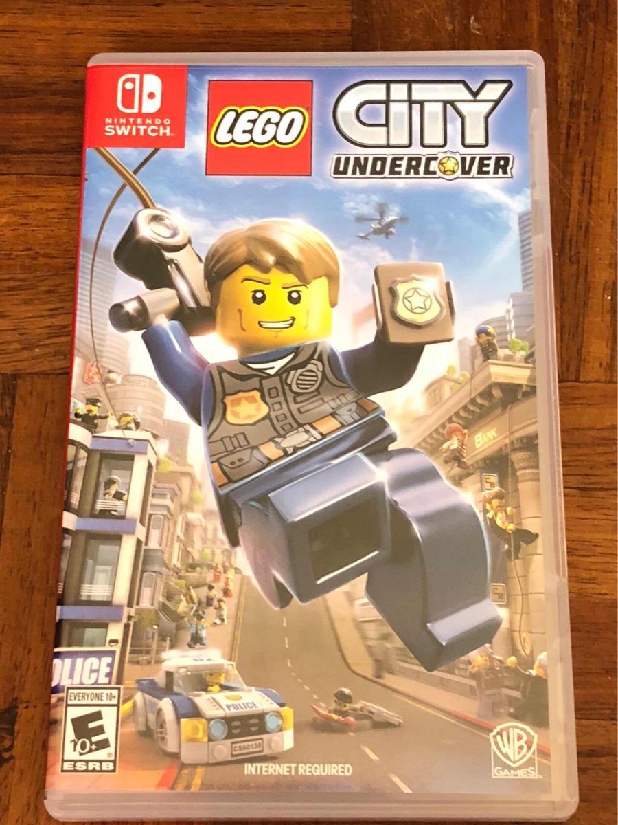 Juego Para Nintendo Switch Lego City Undercover Usado 650 00 En