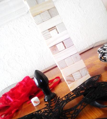 juego para parejas estilo jenga nivel 2 kit completo