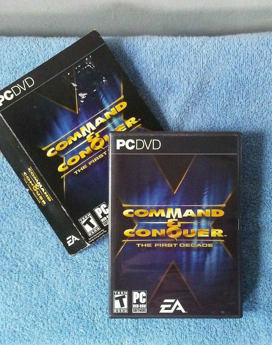 Juego Para Pc Command & Conquer The First Decade
