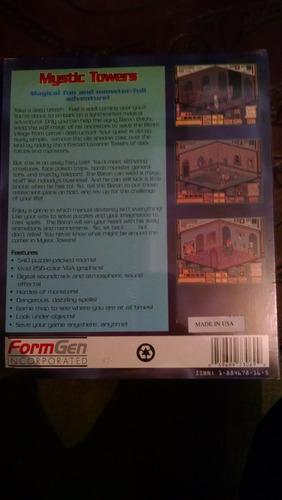 juego para pc mystic towers vintage antiguo