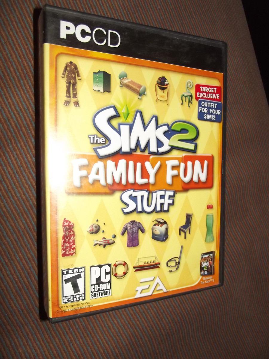 Juego Para Pc The Sims 2 Family Fun Stuff Como Nuevo Cargando Zoom