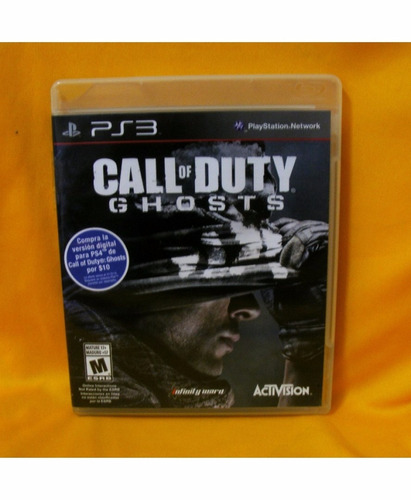 juego para playstation 3 call of duty ghosts ipp6