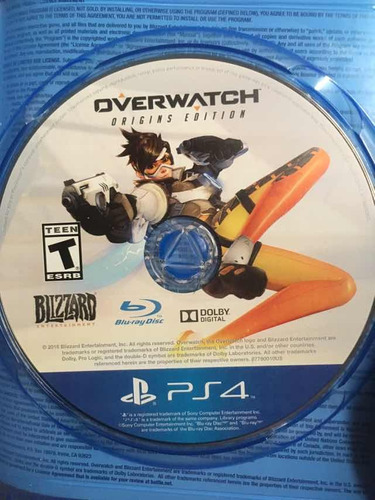 juego para playstation 4 físico overwatch